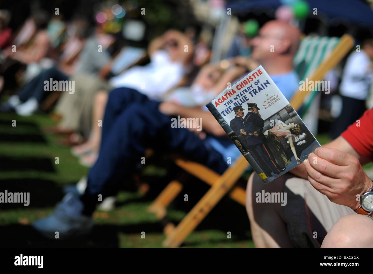 Picture By Jim Wileman 12/09/2010 The Agatha Christie Festival, in Torquay, Devon. - Stock Image