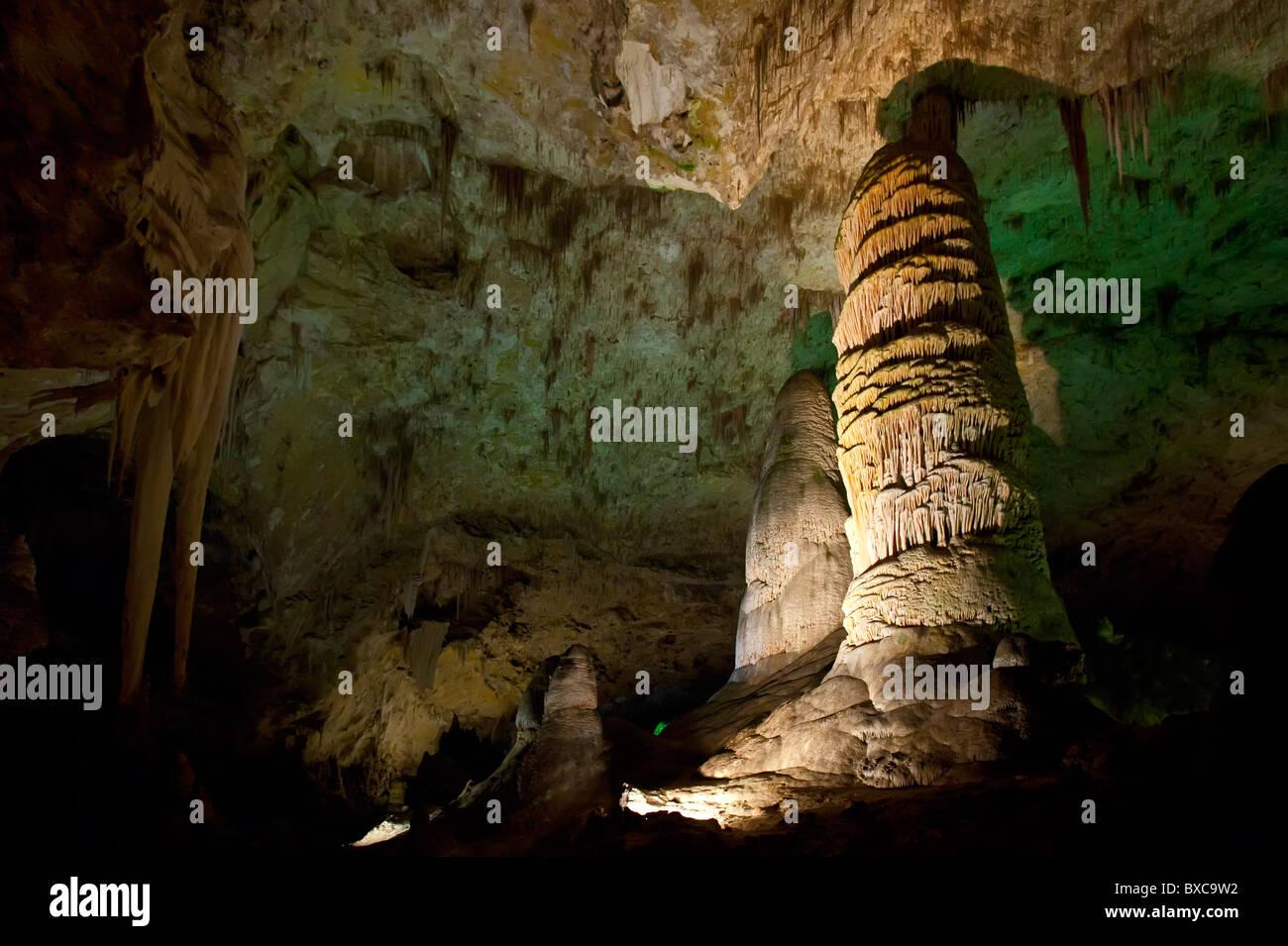 Carlsbad, New Mexico - Carlsbad Caverns National Park. - Stock Image