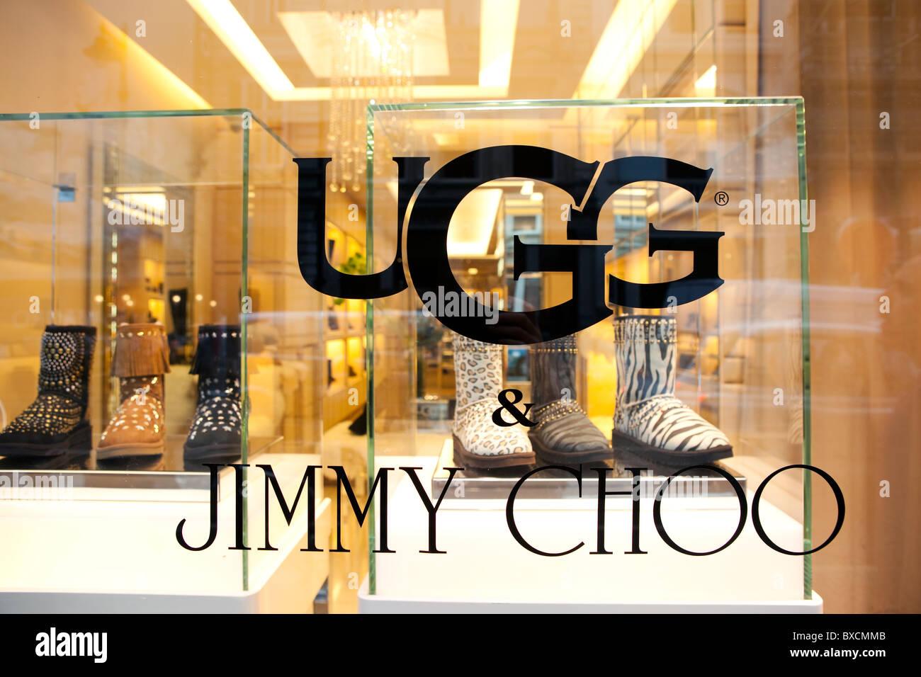 a9028637f3b Jimmy Choo store in New Bond street. London Stock Photo: 33471099 ...