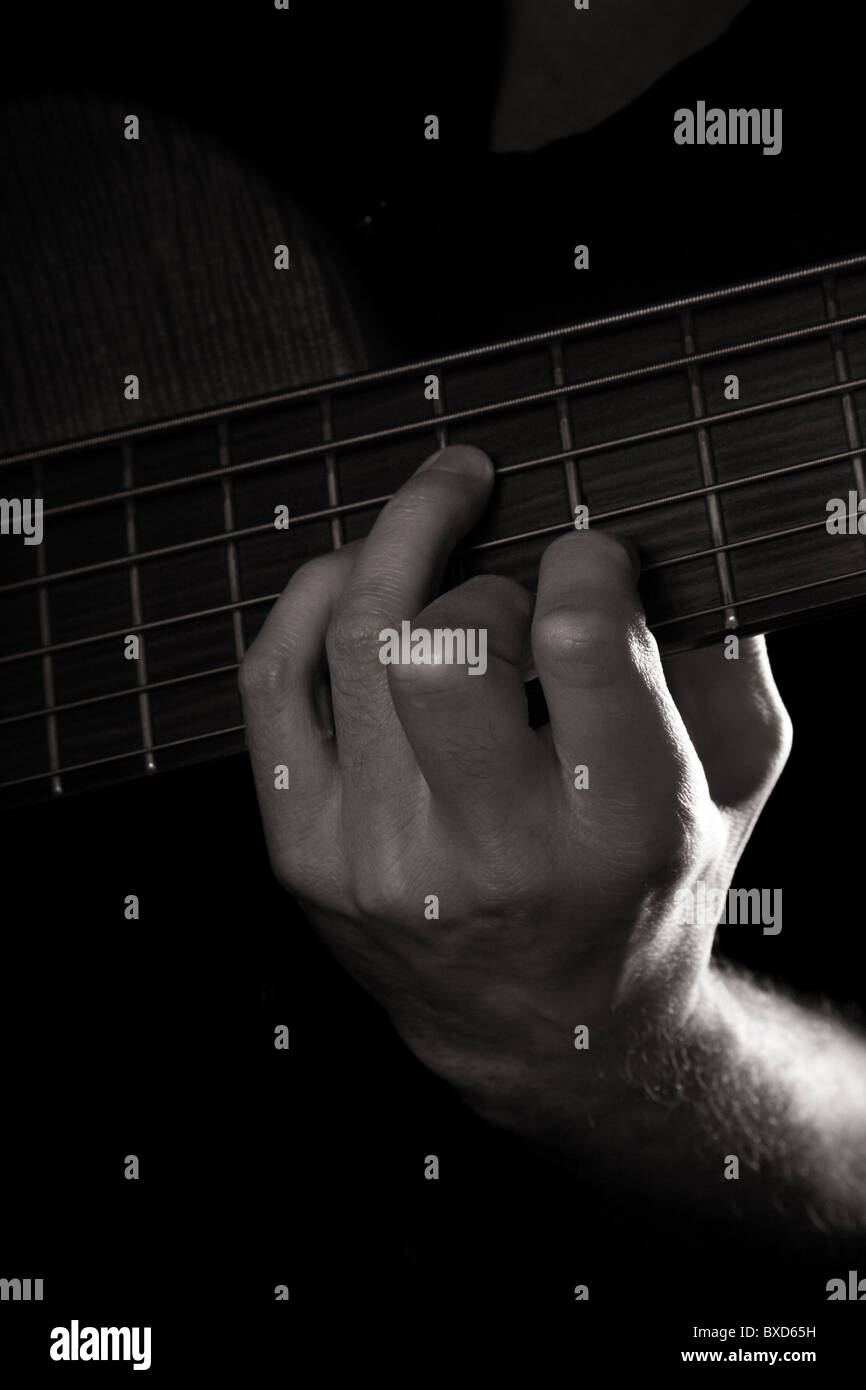 Diminished Seventh Chord A Dim7 Playing Six String Electric Bass