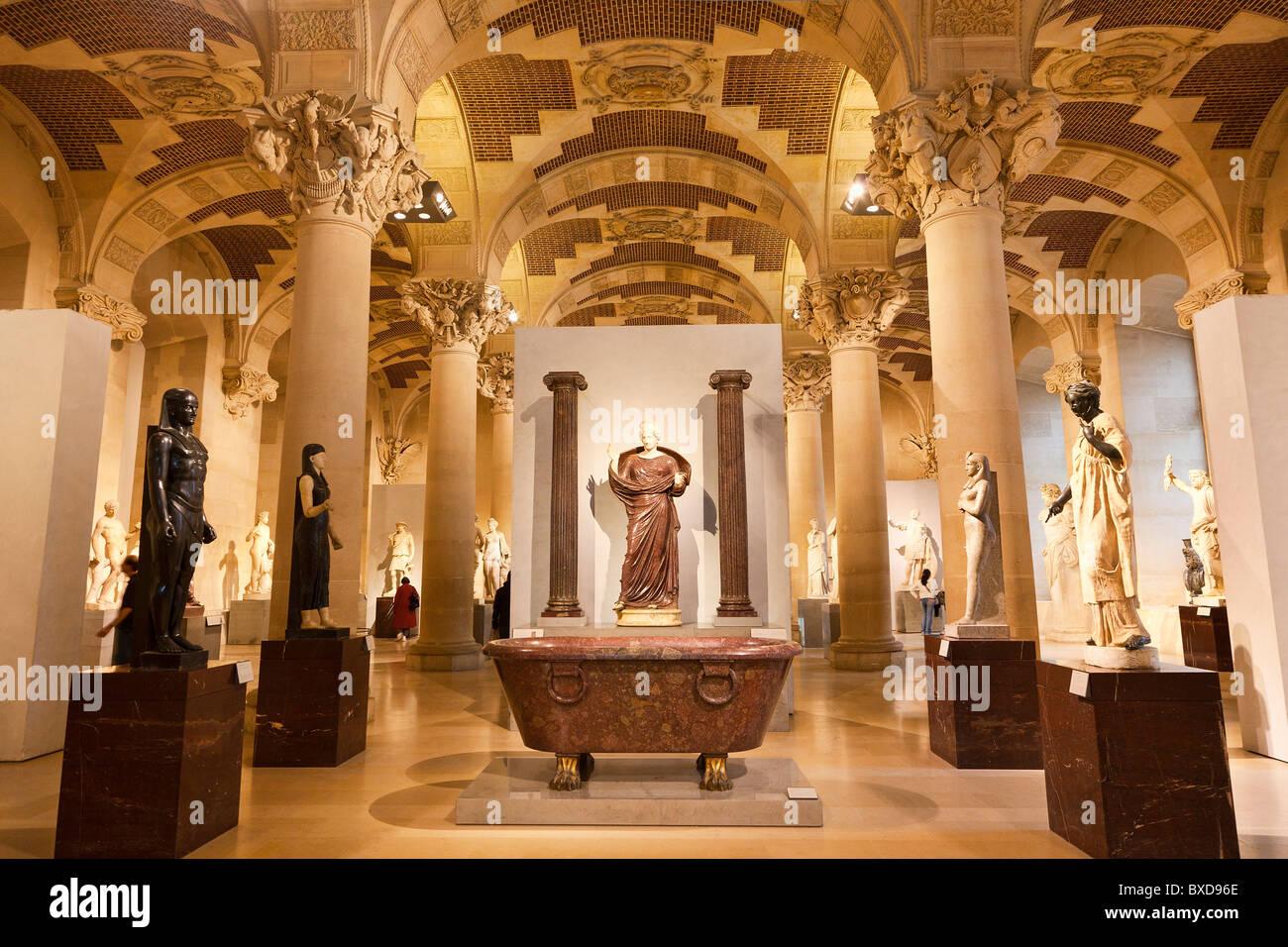 Paris, Musee du Louvre - Stock Image