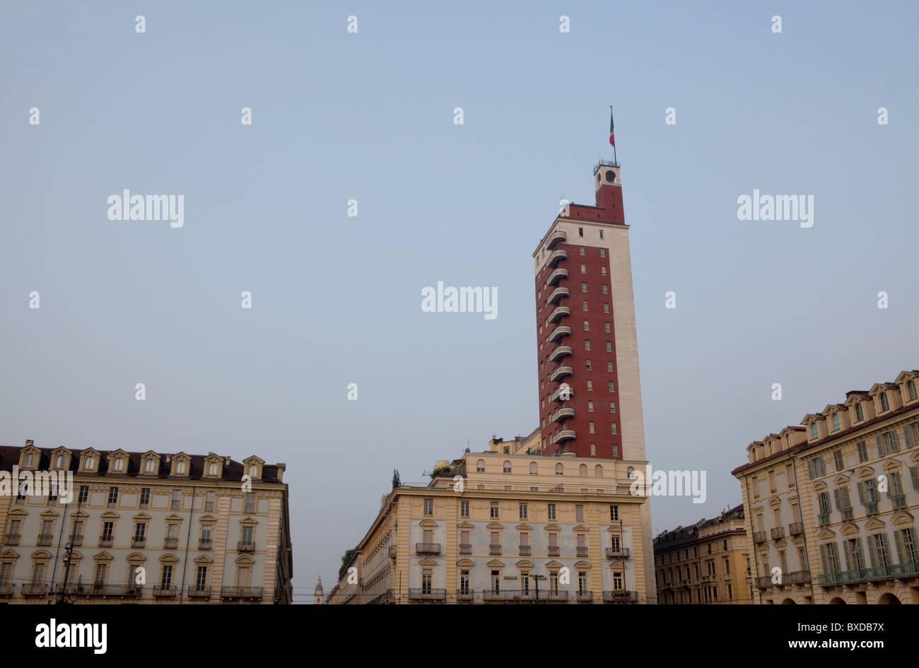 Torino Sky Scraper - Stock Image