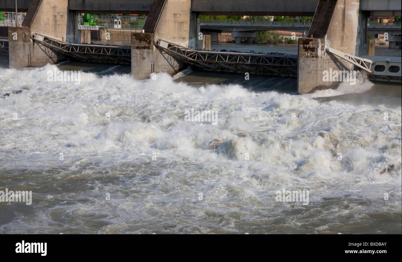 Dam - Stock Image