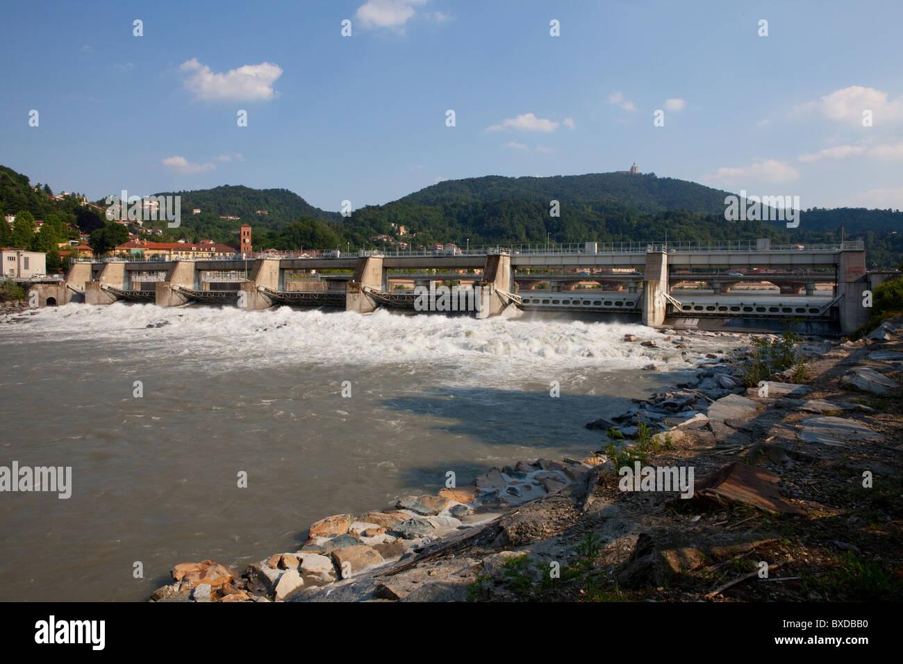 River, Bank - Stock Image