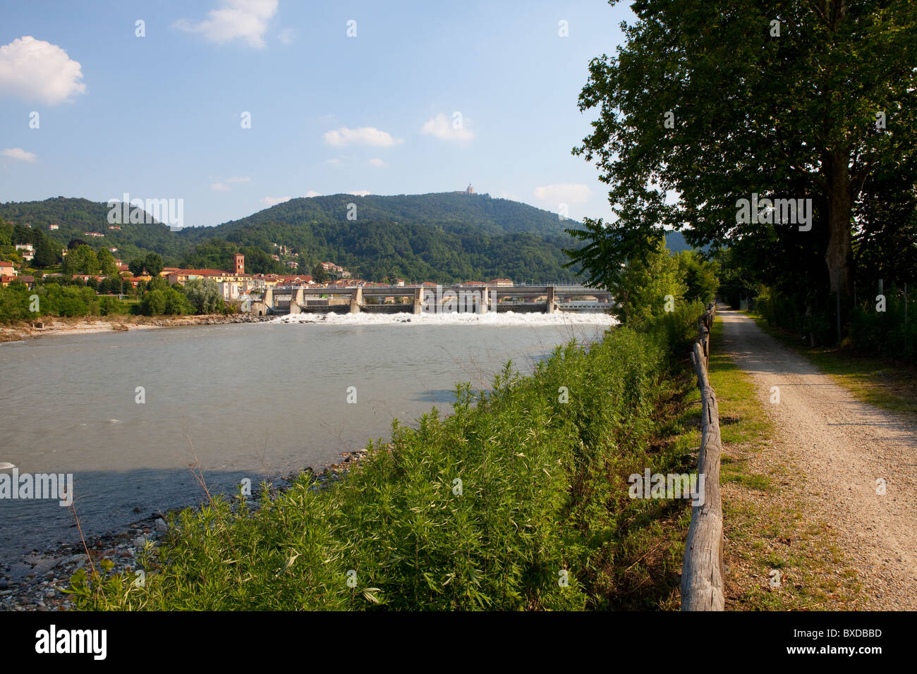 River Bank - Stock Image