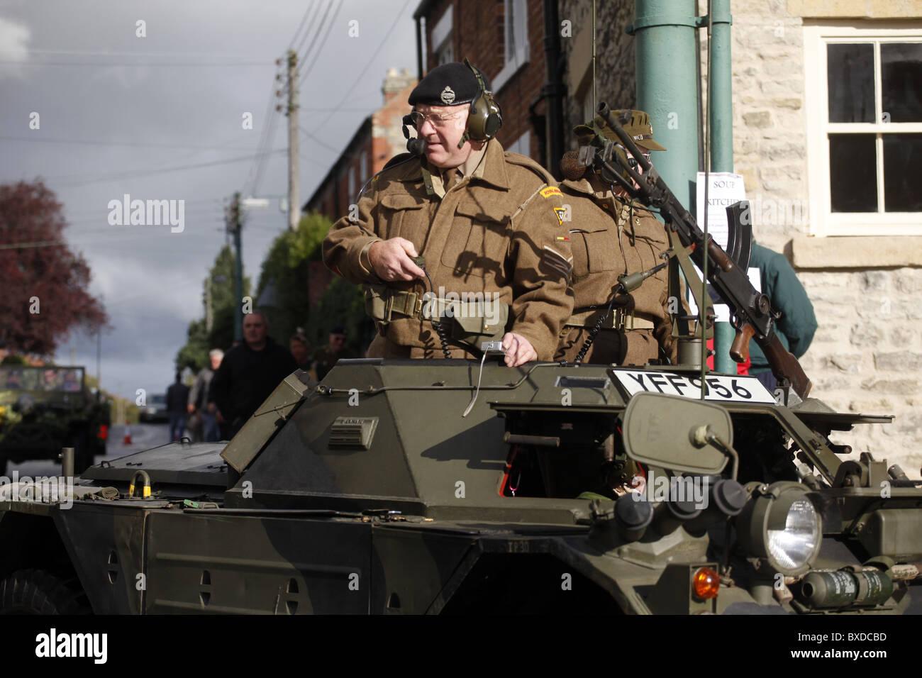 BRITISH ARMY SERGEANT PICKERING NORTH YORKSHIRE PICKERING NORTH YORKSHIRE PICKERING NORTH YORKSHIRE 16 October 2010 - Stock Image