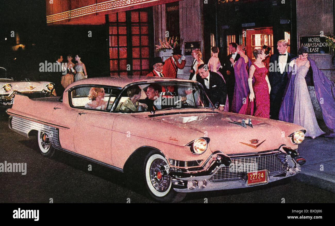 1956 CADILLAC  SERIES 62 COUPE Stock Photo