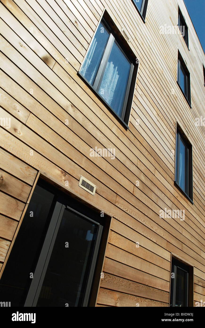 C Amp J Cladding : Timber cladding stock photos