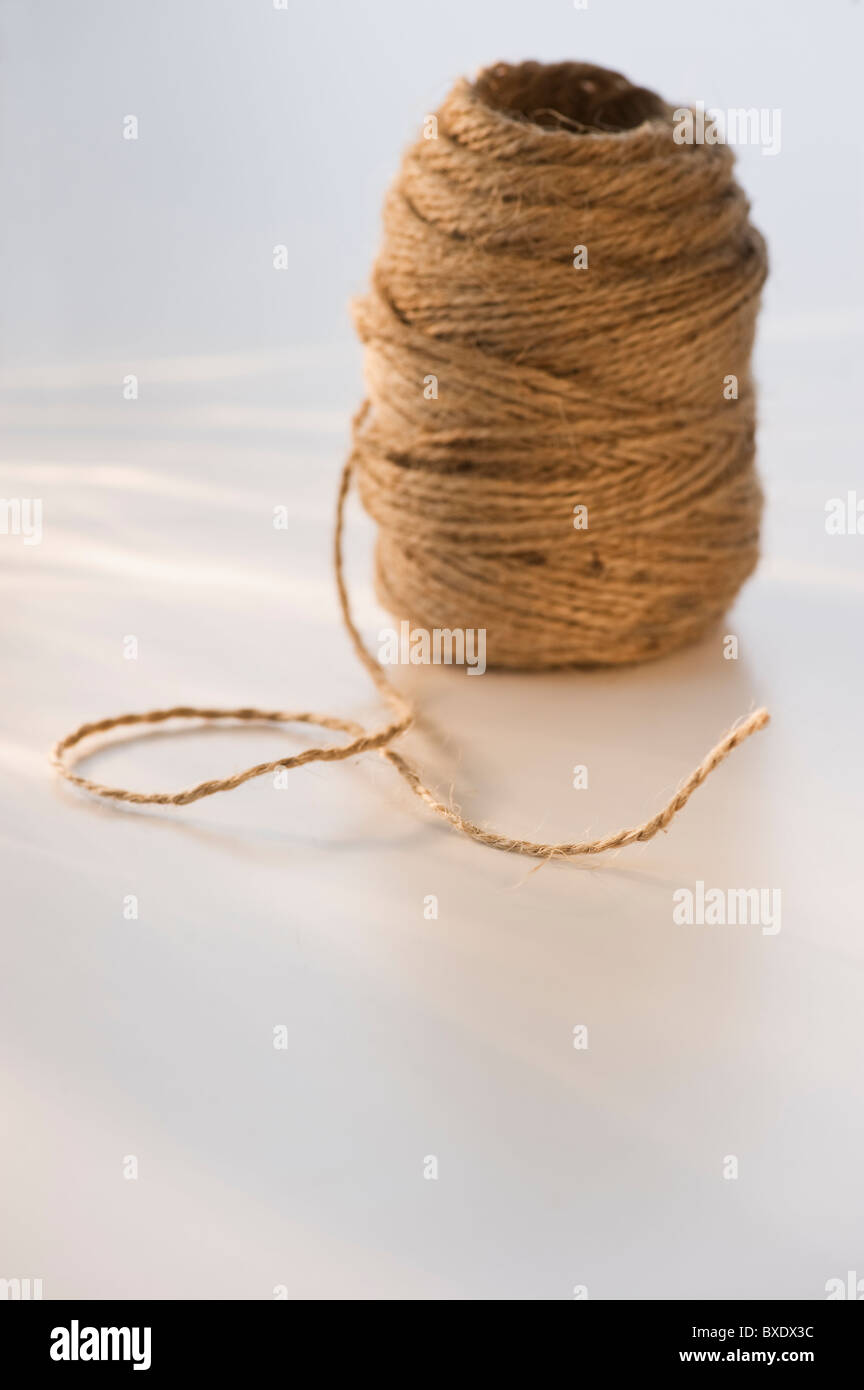 Ball of twine - Stock Image