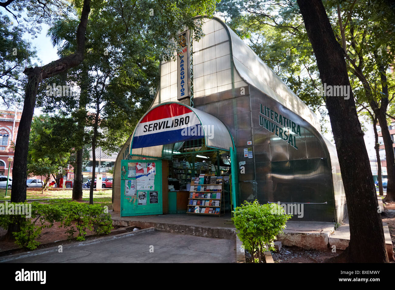Bookstore Servilibro, Asuncion, Paraguay, South America - Stock Image