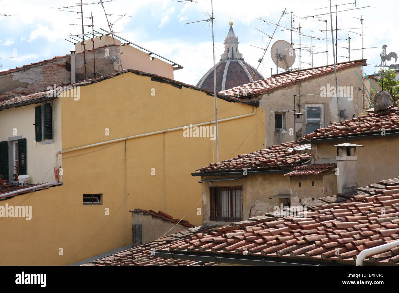 Roofs of Florence Stock Photo