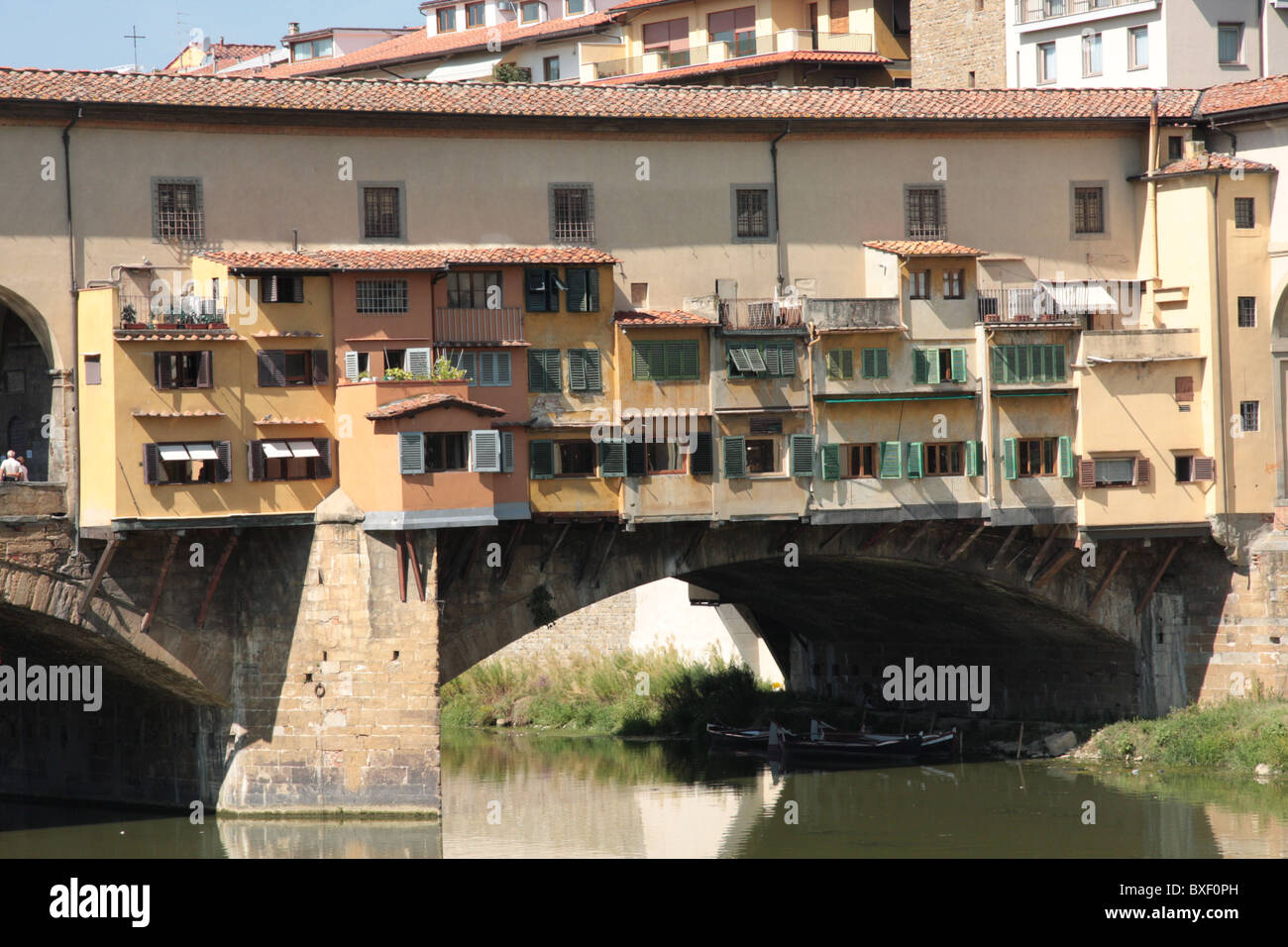 Ponte Vecchio of Florence - Stock Image