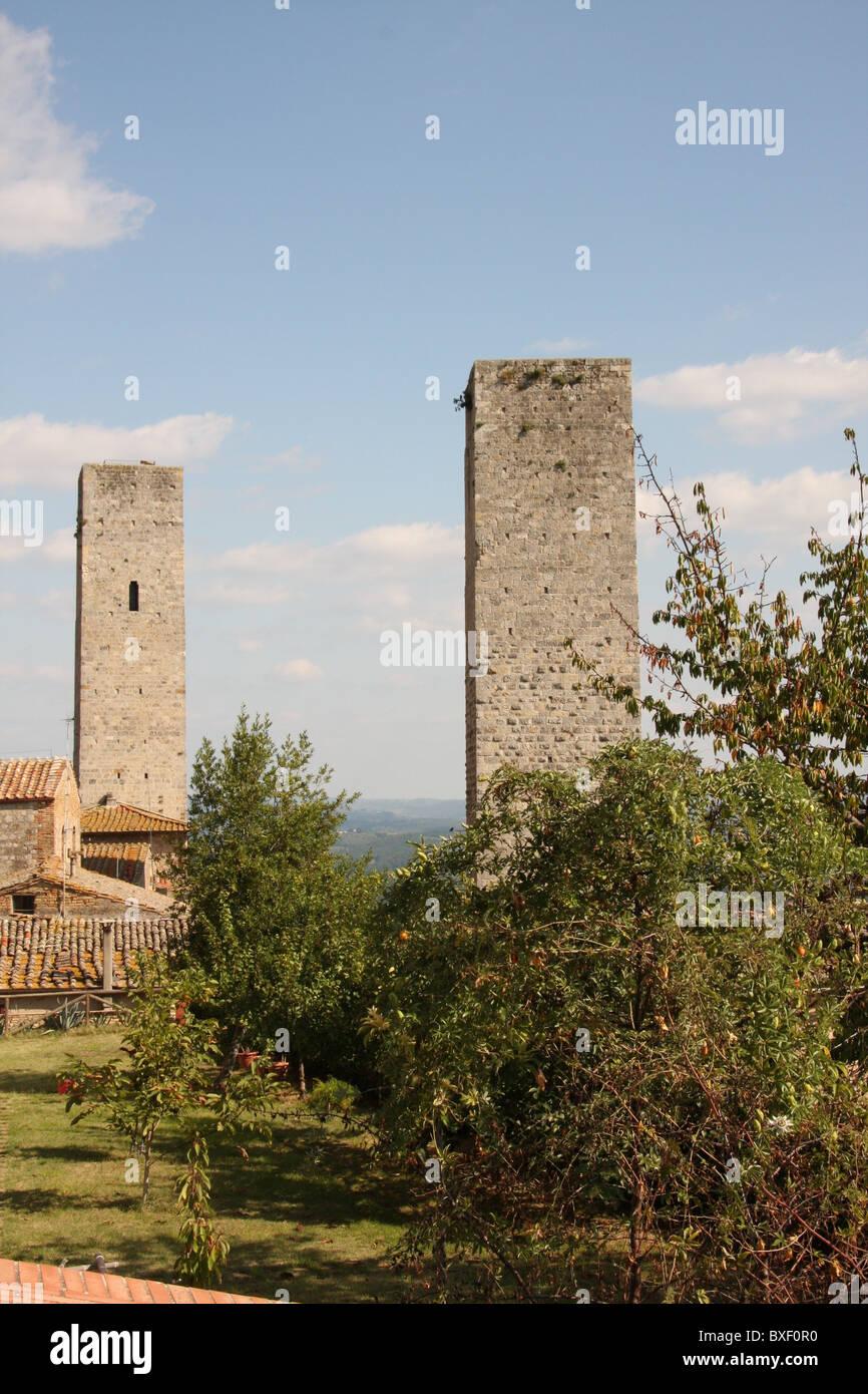 San Gimignano, Tuscany - Stock Image
