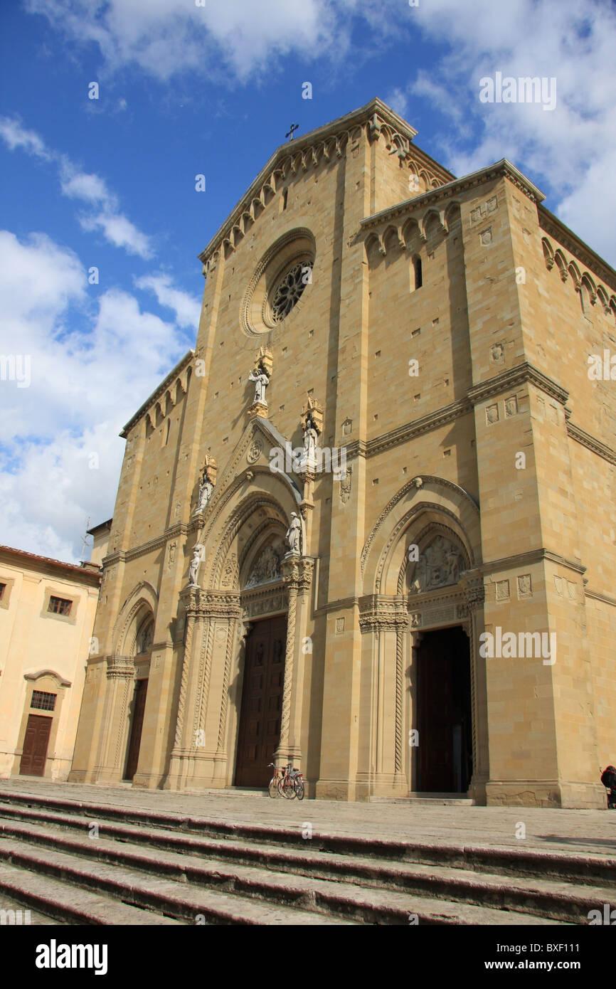 Church in Siena - Stock Image