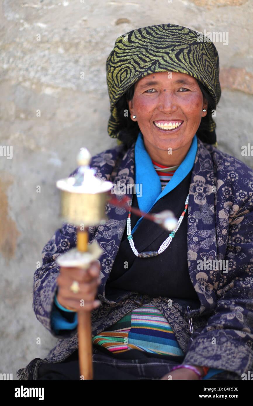 in Lhasa, Autonomous Region of Tibet in China - Stock Image