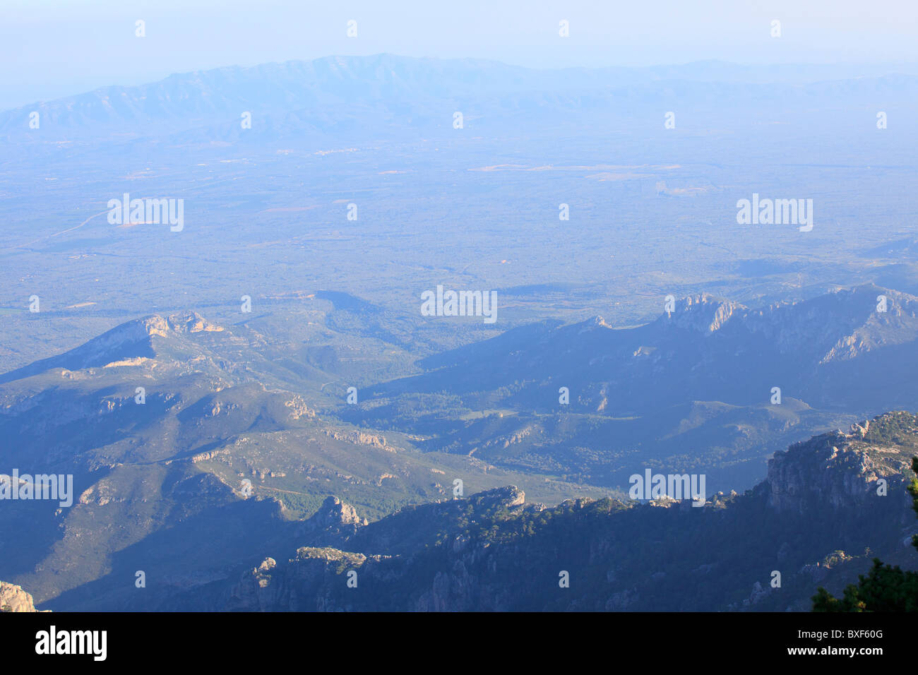 Els Ports natural park Catalonia Spain - Stock Image
