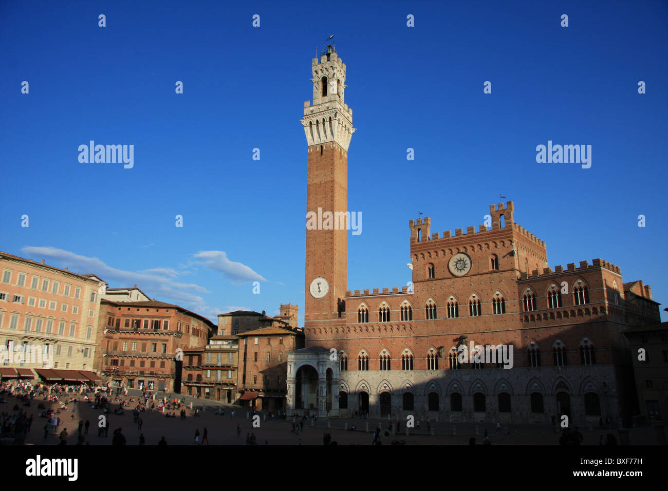 The Palio in Siena - Stock Image