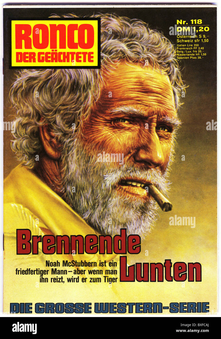 books, magazines / newspapers, penny novel, Ronco, der