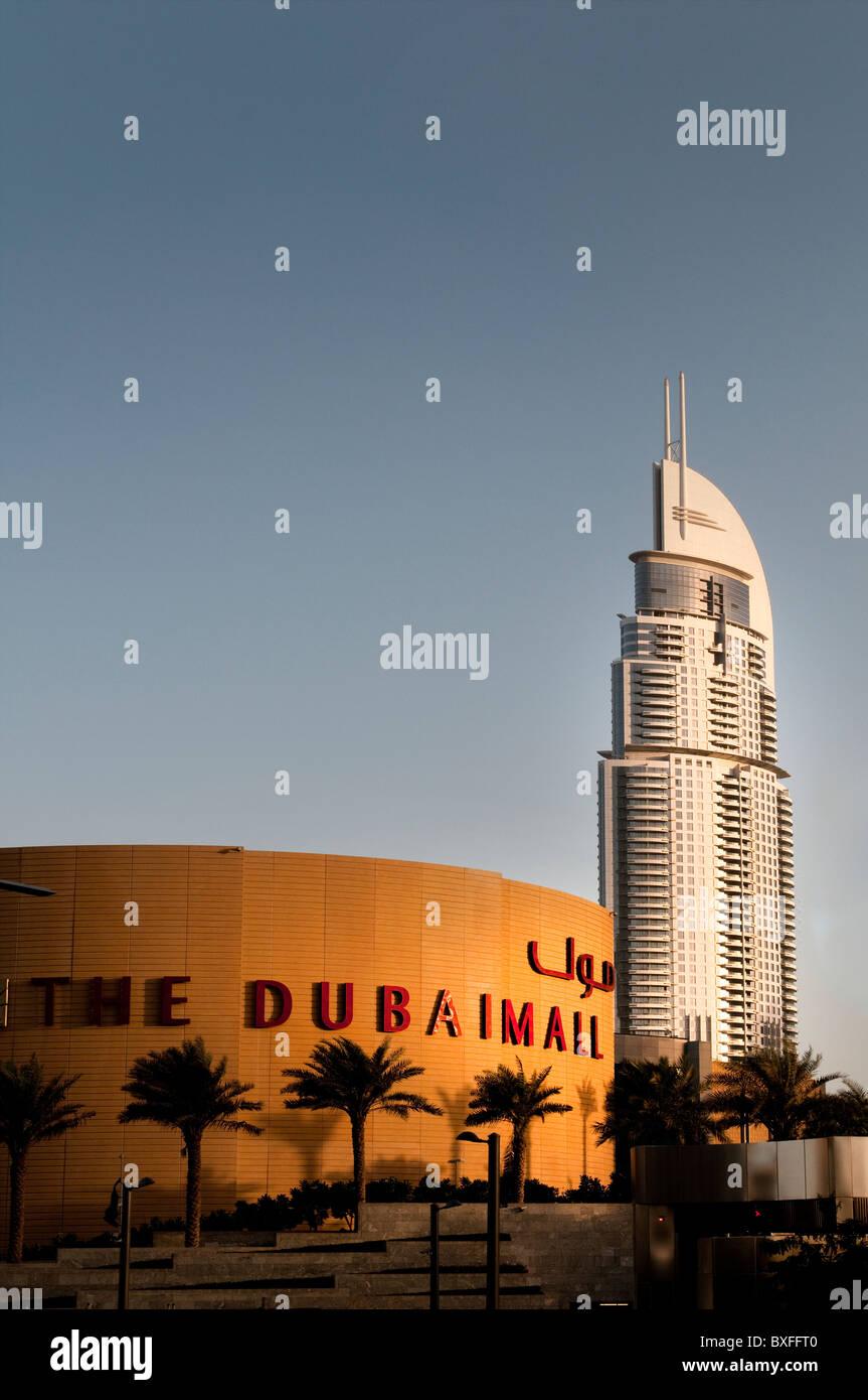 The Dubai Mall - Stock Image