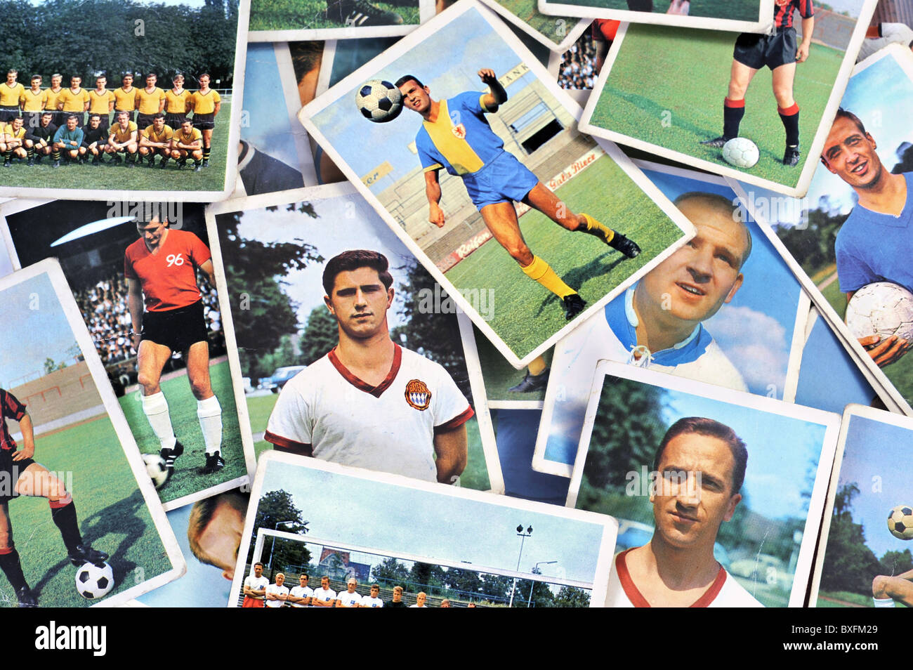 sports, soccer / football, national league, season 1965/66, Germany, 1965, 1960s, 60s, 20th century, historic, historical, - Stock Image