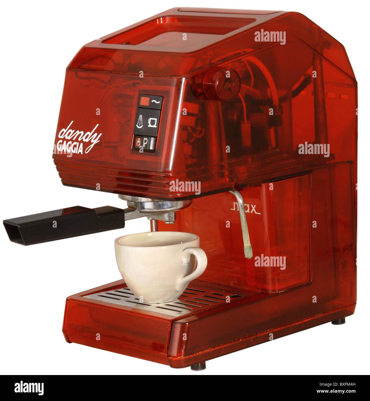 gastronomy, coffee, espresso machine, Gaggia dandy, Italy, circa ...