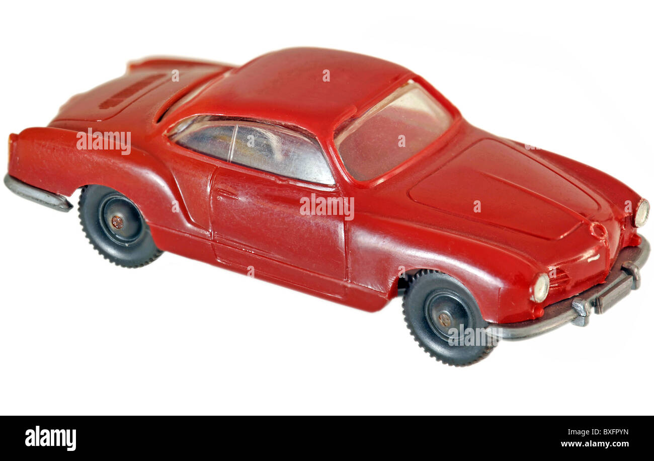 toys, toy car, Karmann Ghia, Wiking cars, Germany, 1965, 1960s, 60s ...