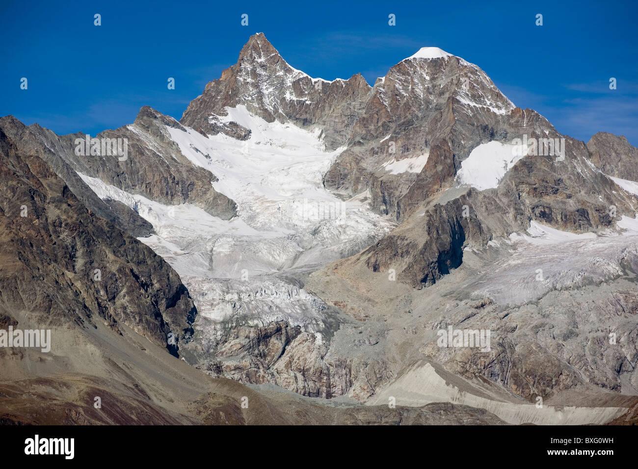 Ober Gabelhorn mountain, Switzerland Stock Photo