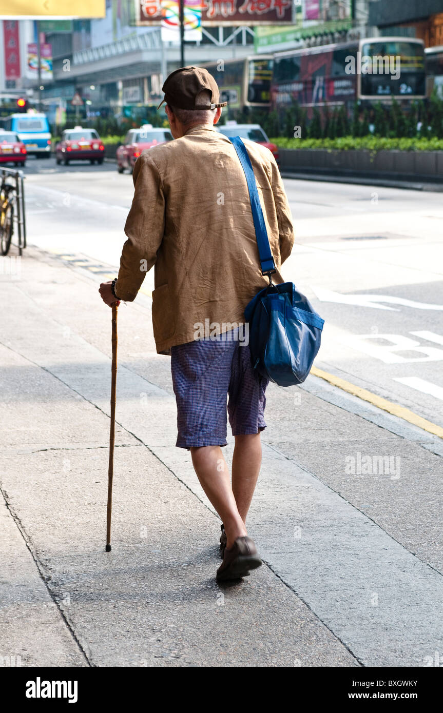 Traditional Wooden Walking Stick Stock Photos Traditional Wooden