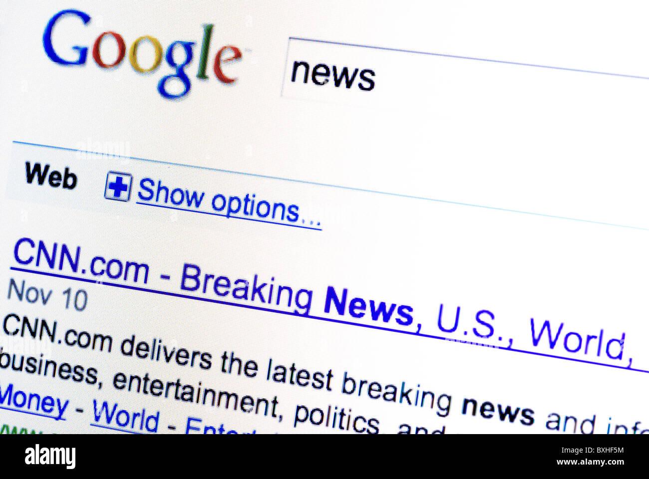 Cnn Breaking News Stock Photos & Cnn Breaking News Stock