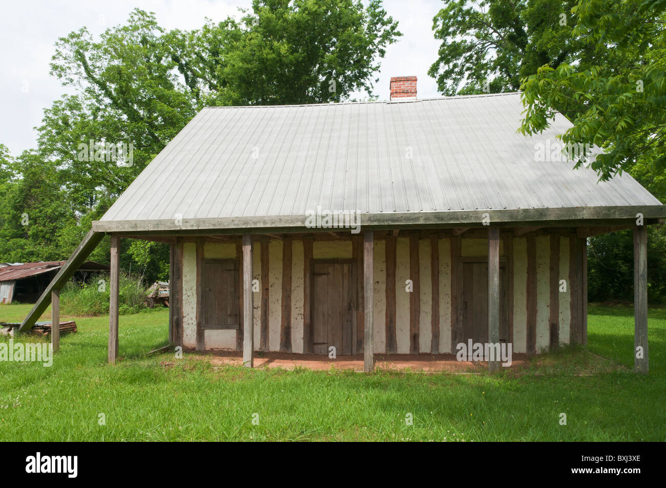 Cane River Creole National Historical Area, Badin - Roque House - Stock Image