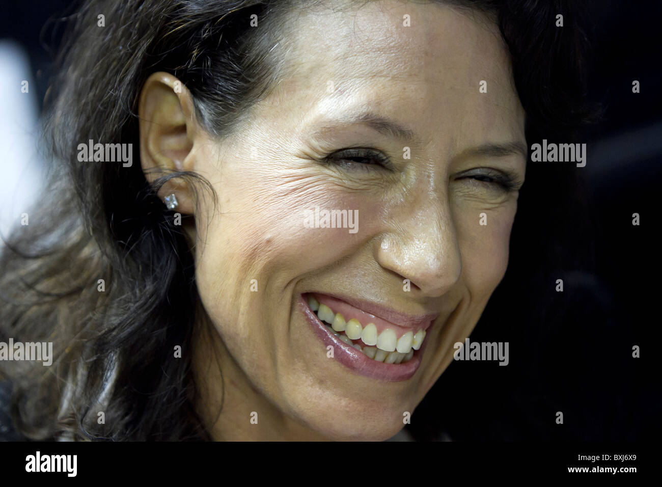 Oldham East and Saddleworth by election . Labour candidate Debbie Abrahams . - Stock Image