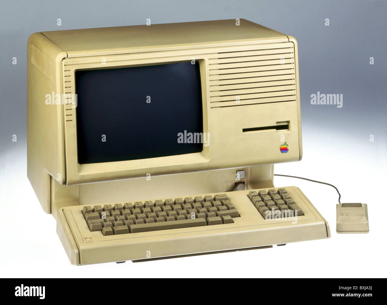 computing / electronics, computer Apple Lisa, first Personal Computer with graphical user interface and mouse, USA, - Stock Image
