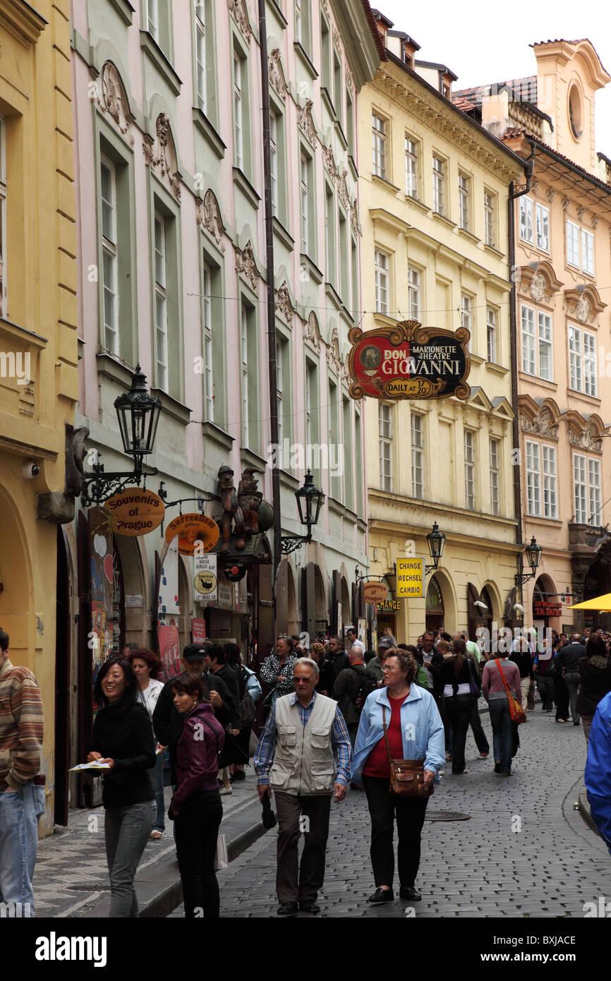 Old Town, Prague, Czech Republic - Stock Image