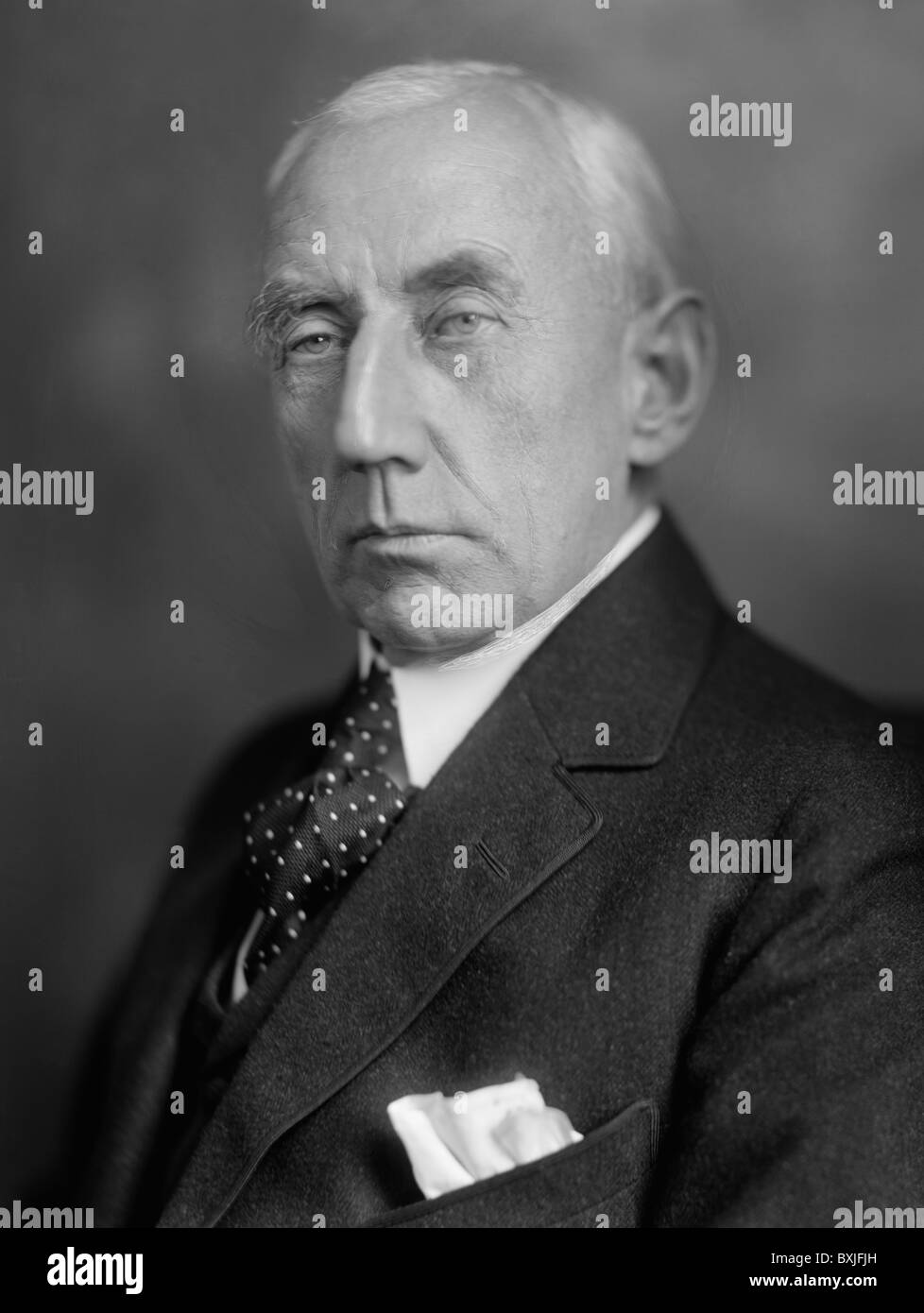 Norwegian polar explorer Roald Amundsen (1872 - 1928) - the first person to reach the geographic South Pole in December Stock Photo