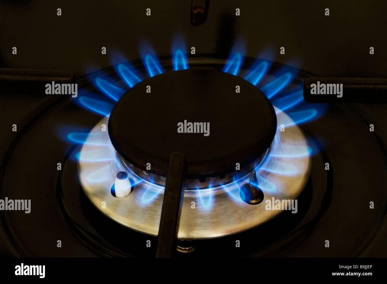 Working gas ring - Stock Image