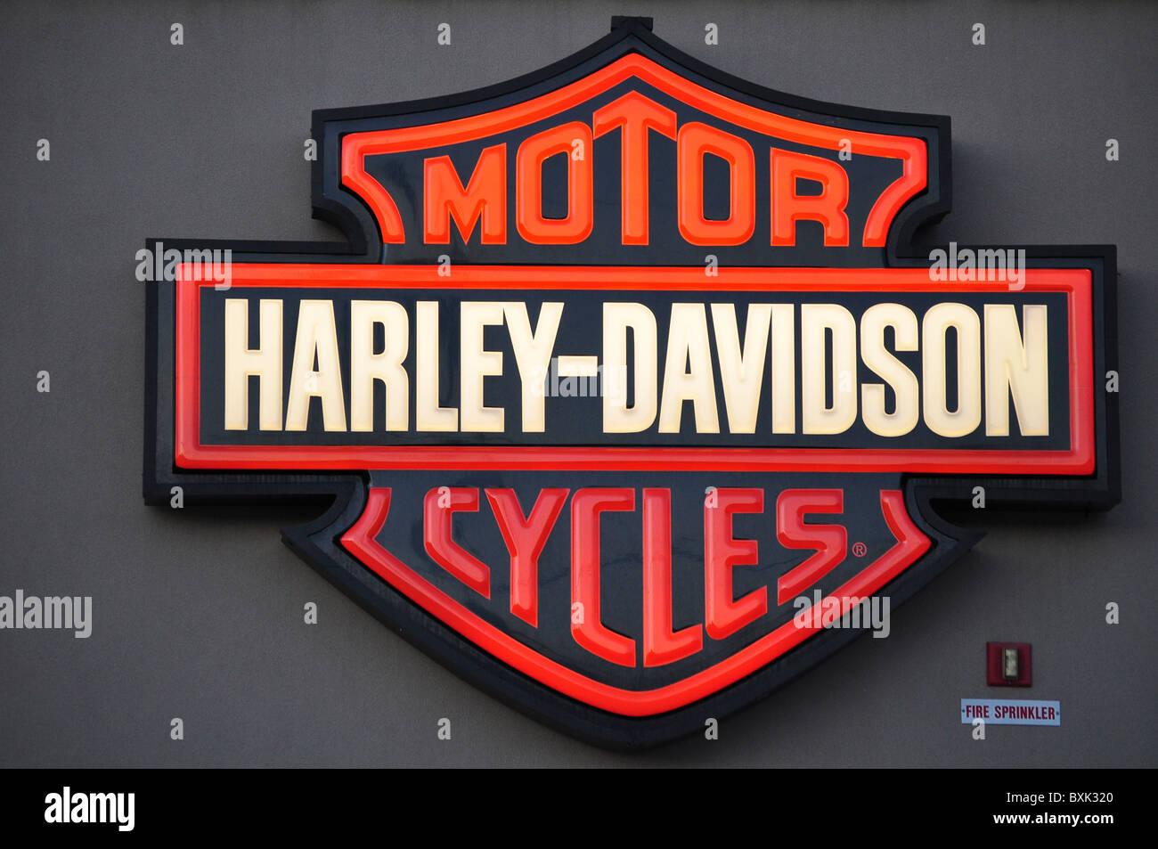 Harley Davidson Motor Cycles Stock Photos Harley Davidson Motor