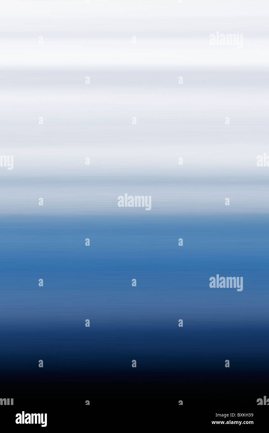 Abstract colour, color - Blue - White - Black - Stock Image