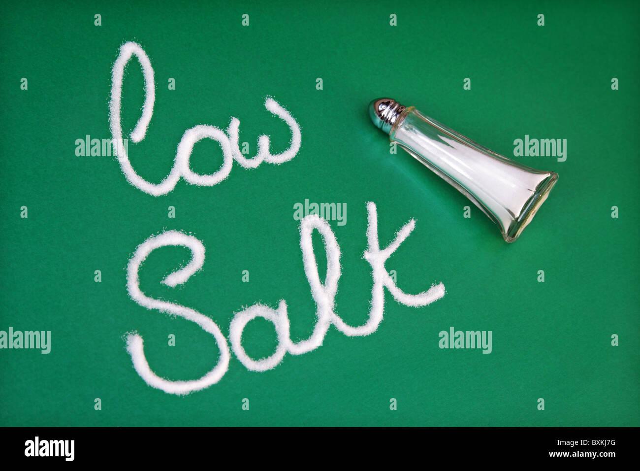 Low salt diet - Stock Image