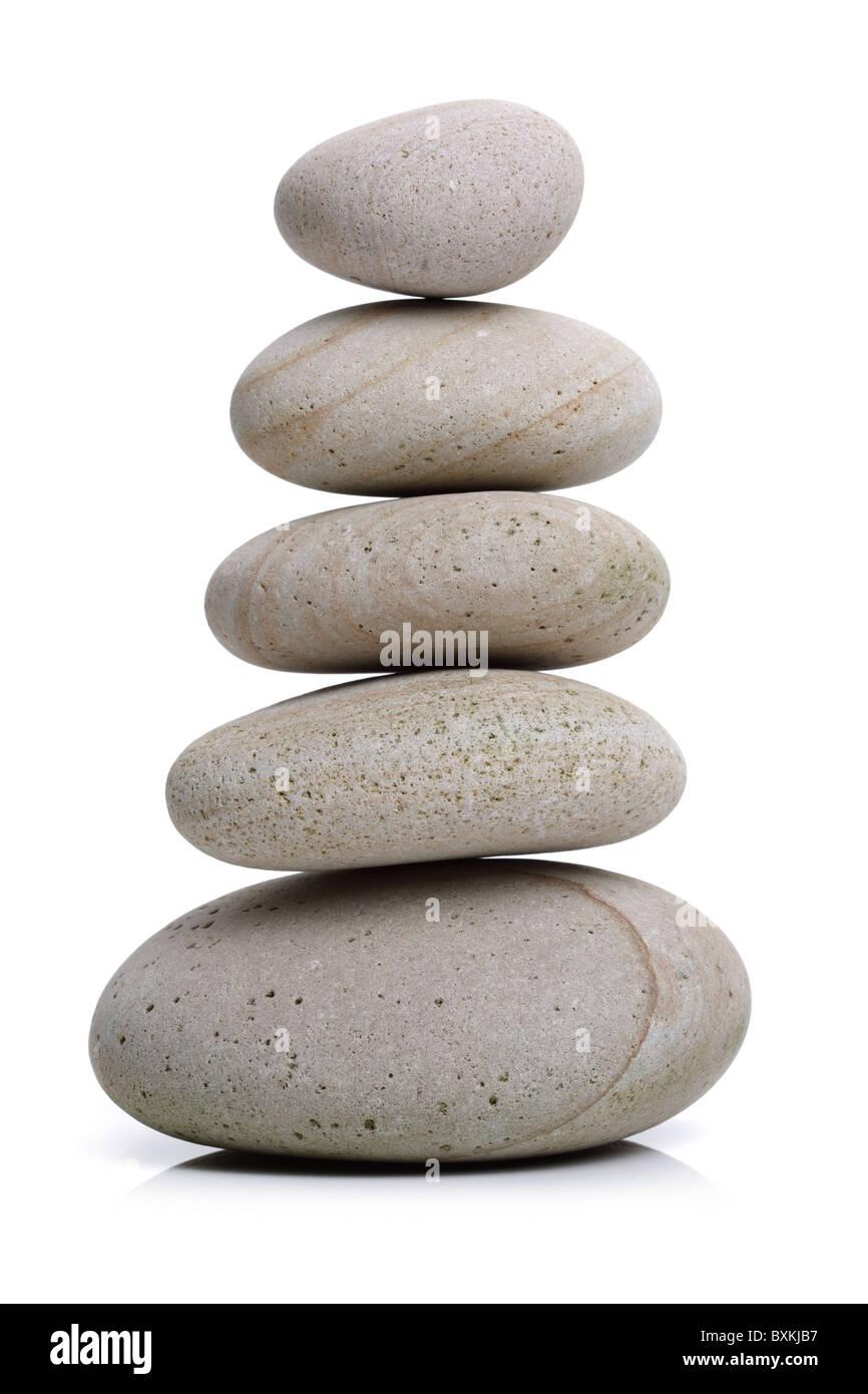 Stone balance - Stock Image