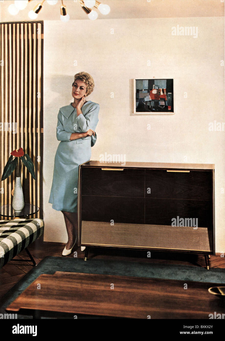 Record Player 1950s Stock Photos Amp Record Player 1950s