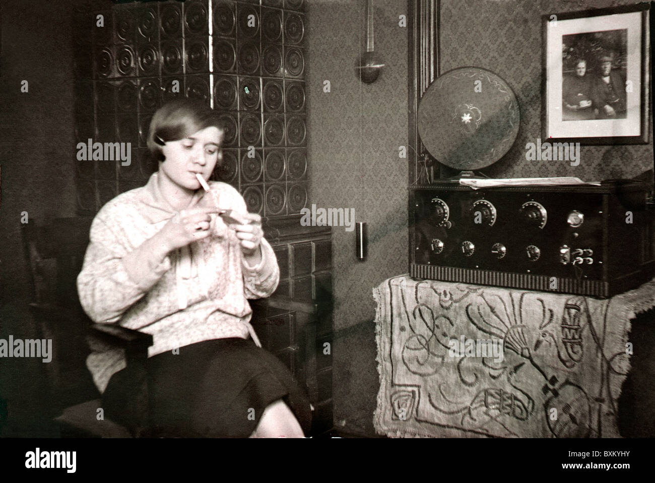 1920s Radio Stock Photos 1920s Radio Stock Images Alamy