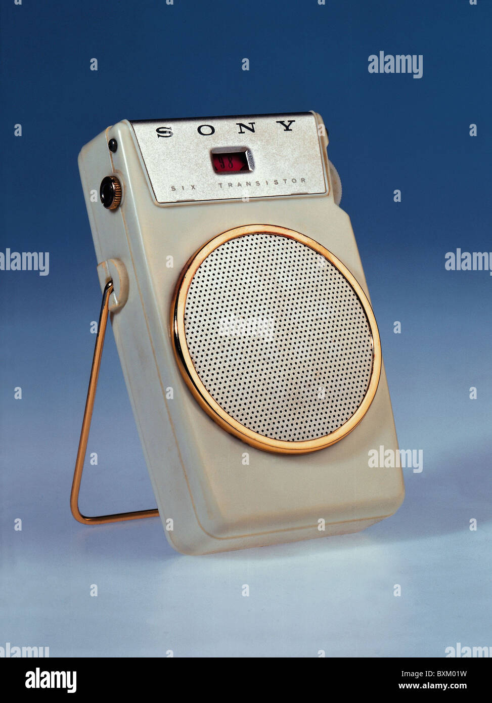 broadcast, radio, radio set Sony 'TR-610', Japan, 1958, Additional-Rights-Clearences-NA - Stock Image
