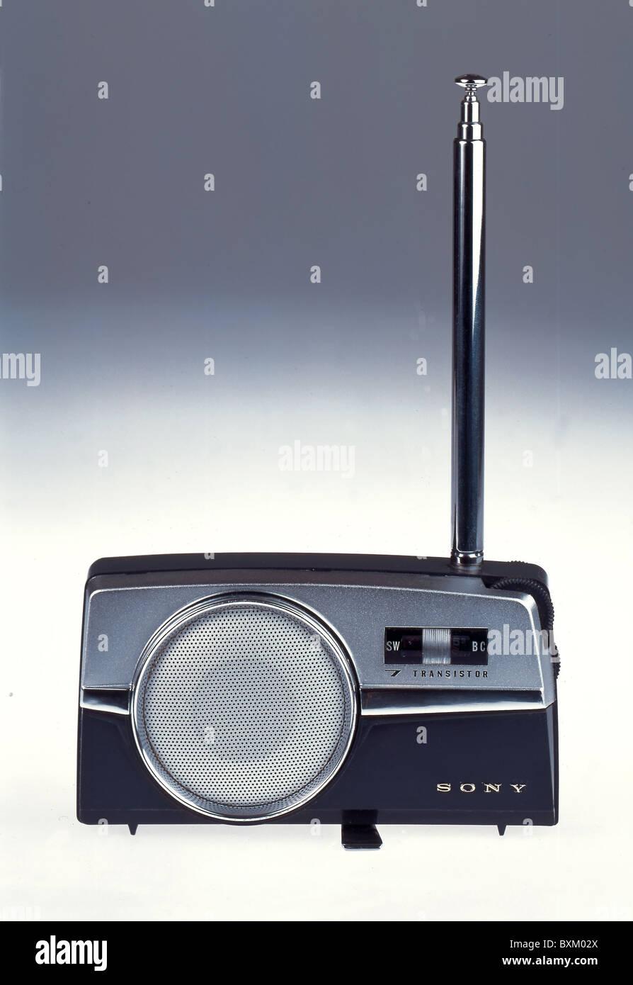 Transistor Radio 1950s Stock Photos The In A Century Of Electronics Broadcast Sony Set Tr 725 Japan Circa 1958