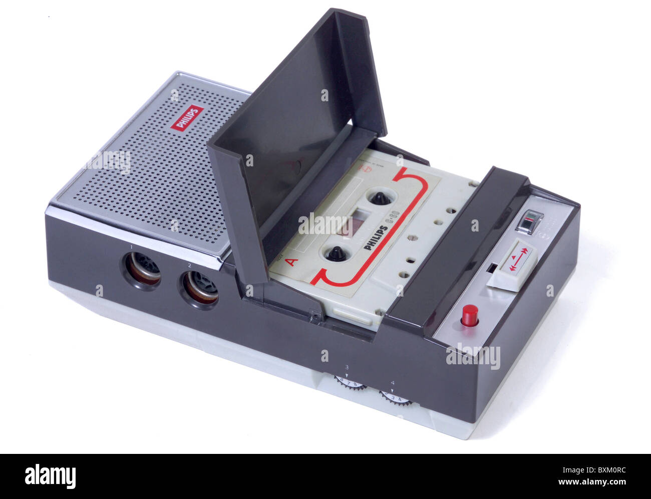 technics, Philips cassette recorder 3300, Netherlands, 1963, technics, historic, historical, 1960s, 60s, 20th century, - Stock Image