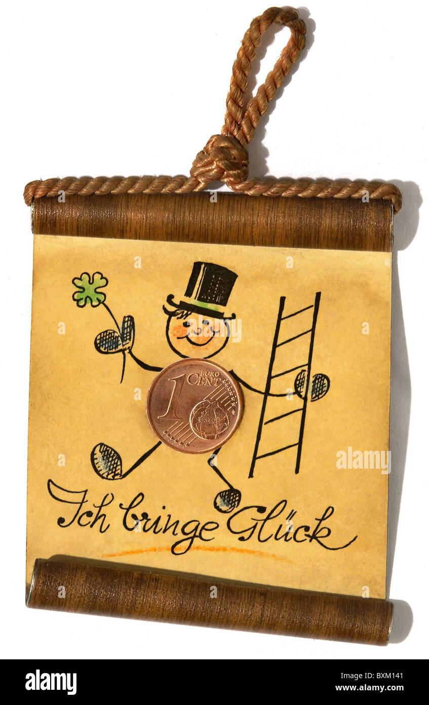 Symbols Luck Chimney Sweep Talisman Charm Good Luck Charm Stock