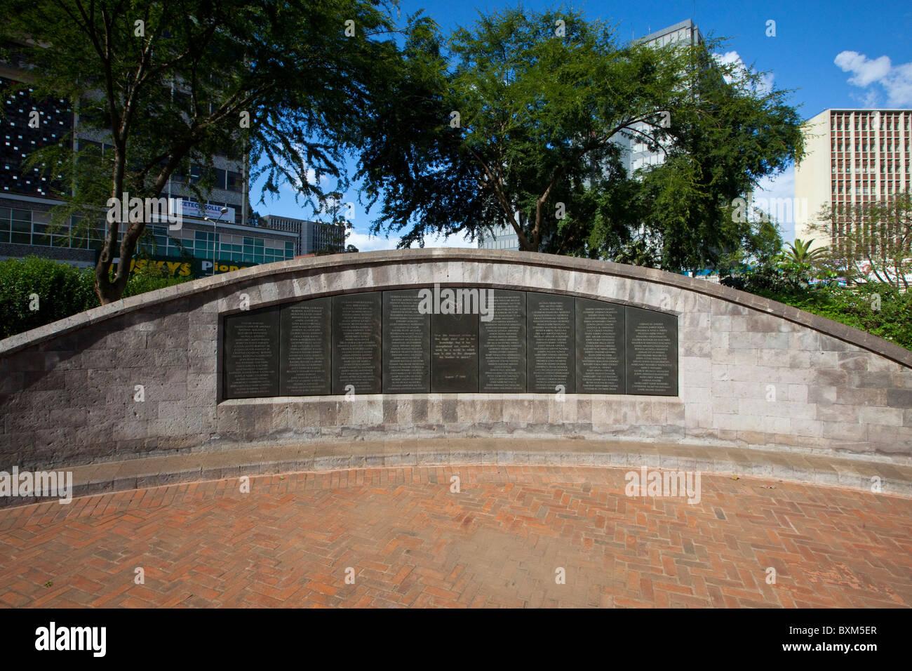 August 7 Memorial Park, US Embassy Bombing Memorial, Nairobi