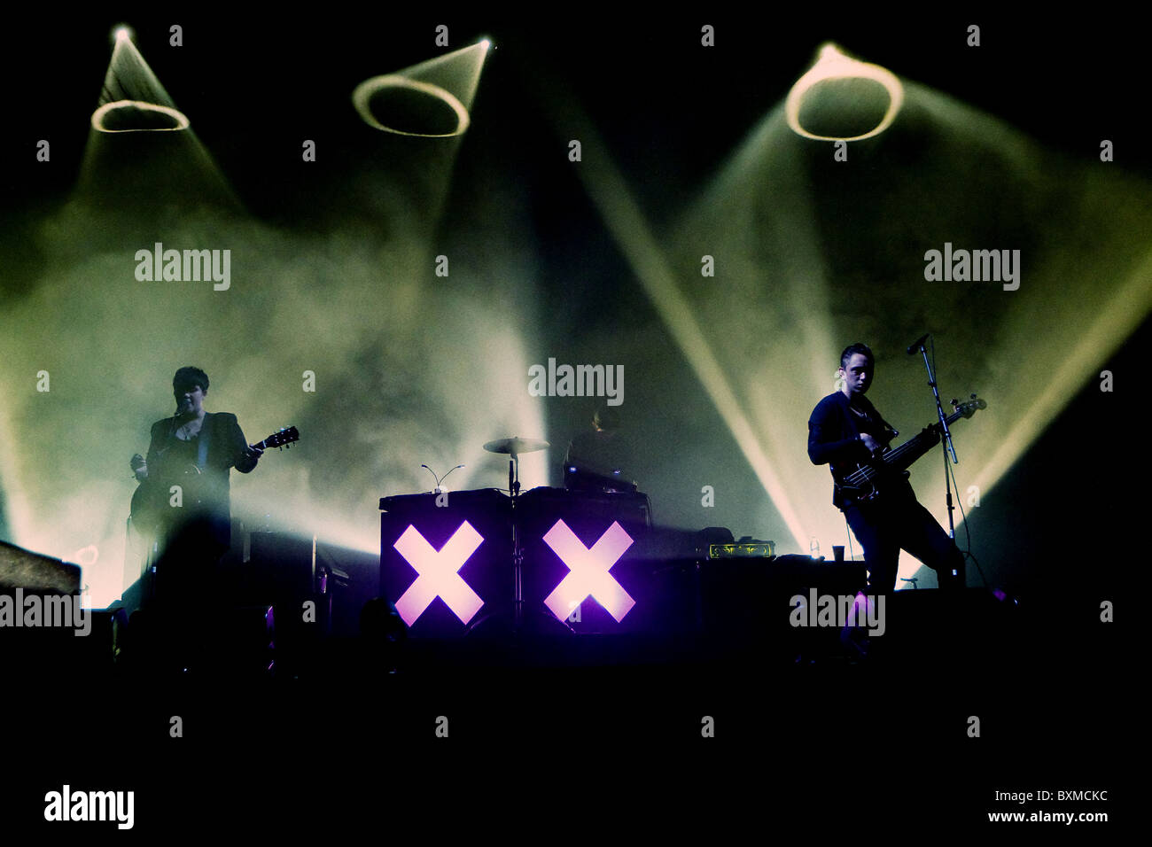 Rock Band The XX - Stock Image