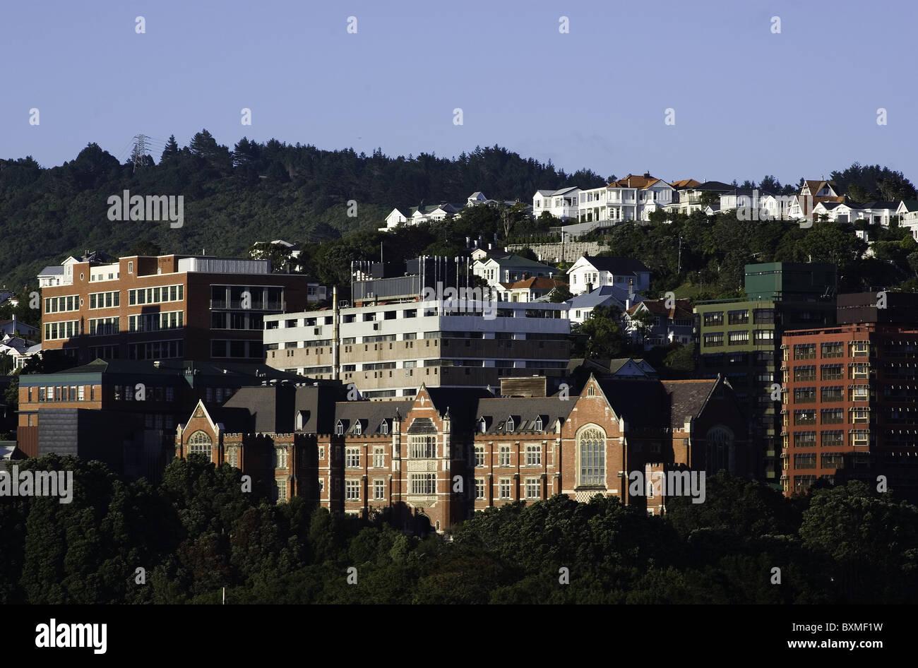 Kelburn Campus Of Victoria University Of Wellington New Zealand