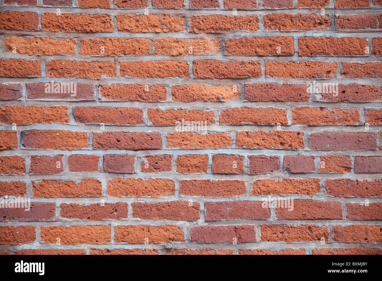 Brick Wall - tack sharp image for use as background - Stock Image