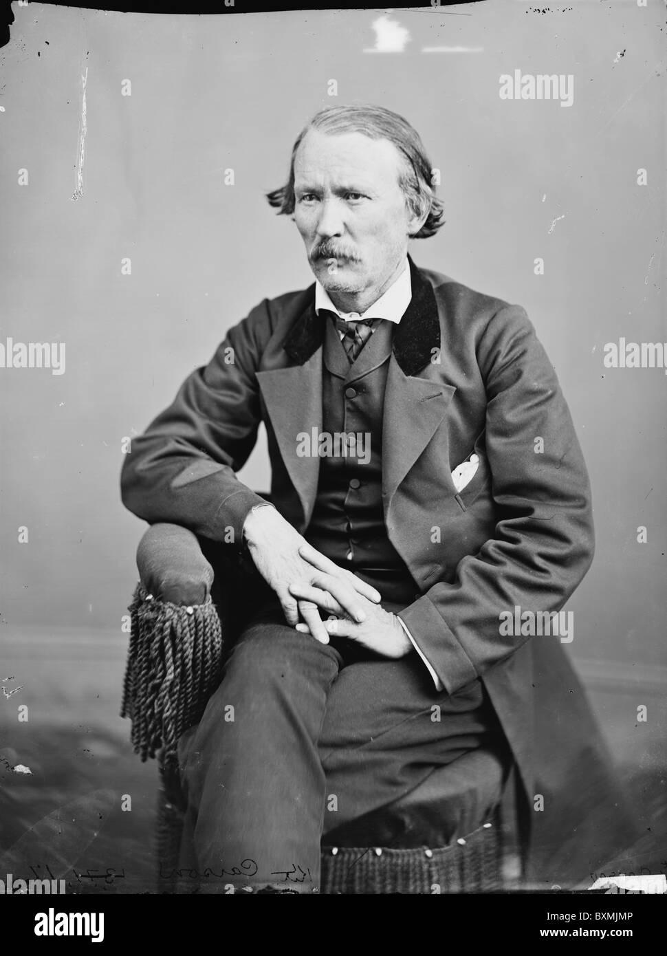 Christopher (Kit) Carson indian wars - Stock Image